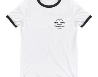 G.K. Chesterton Quote on Ringer T-Shirt