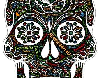 Halloween Skulls / Sugar Skulls