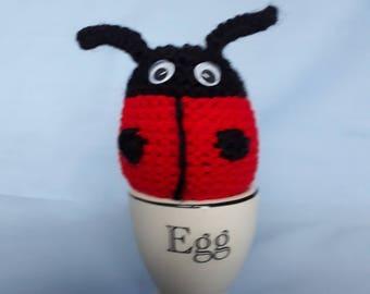 Ladybird Egg Cosy