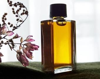 Natural Perfume oil, Miss Mary Jane, Champa Flower Incense Smoke Hemp Woods 5 ml Botanical Perfume