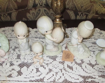 PRECIOUS MOMENTS Figurines - Collection of Six