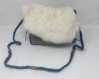 Leather purse - leather bag - festival bag - boho purse - purse - crossbody purse