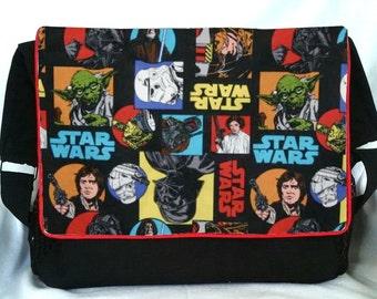 Special Listing for Alicia - Star Wars Collage Diaper Bag/Stroller Bag