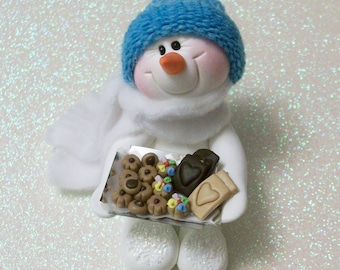 Cookie Exchange: Snowman ornament