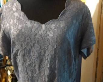 Vintage Lavender Lace Dress! SALE!