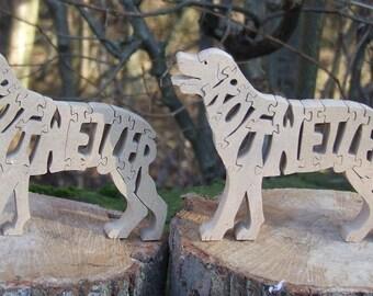 Rottweiler jigsaw, Rottweiler puzzle, Rottweiler gift, Rottweiler ornament,  Rottweiler memorial, gift for Rottweiler lover