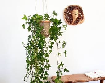 Plant pot holder. Hanging planter holder. Macrame plant hanger. Pot hanger. Hanging plant. Hanging planters. Hanging plant holder.