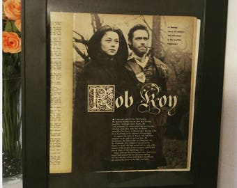 Rob Roy 1954 Framed Screen Stories Magazine