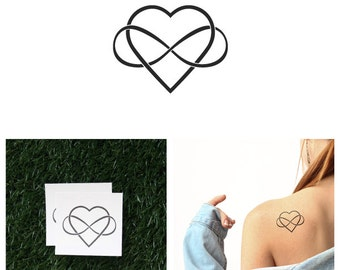 Intertwined - Temporary Tattoo (Set of 2)