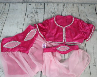Hot Pink Genie Costume, Toddler Genie Costume, Kids Genie Costume, Teen Genie Costume, Kids Arabian Outfit, Youth Arabian Costume