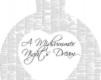 A Midsummer Night's Dream Book Poster