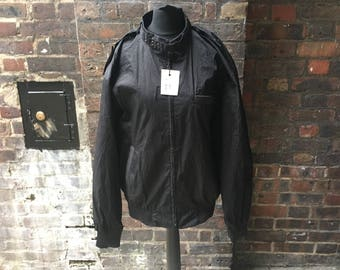 SALE Vintage black bomber jacket | Retro jacket