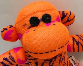 Tatiana the Baby Friendly Sock Monkey