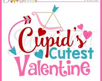 Valentine Clipart, Valentine Lettering, Cupid Clipart, Valentine clip art, Lettering Clipart, Instant Download