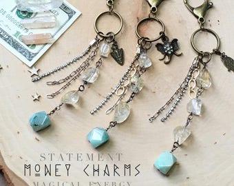 Magical Energy Money Charms, Purse Charms, Good Luck Charms, Purse Accessories, Wallet Accessories, MEMC002