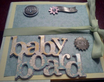 Baby On Board Photo Book