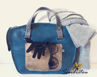 BOHO genuine leather bag CHOOSE your colour