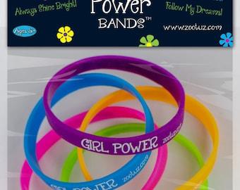 Girl Power Stretch-N-Reveal Bracelets