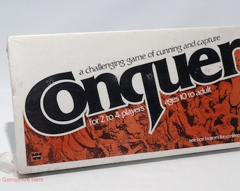 Conquer Game of Strategy from Whitman 1979 Brand New
