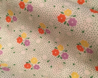 Little Flowers 30's Fabric - 30's Playtime by Chloe's Closet  for Moda 32586 24 - 100% High Quality Cotton Yardage