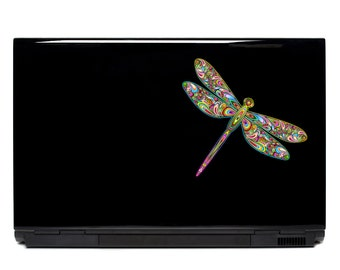 Dragonfly Laptop Decal | dragonfly art FREE SHIPPING macbook decal car decal dragonfly decor dragonfly sticker dragonfly decal iphone decal