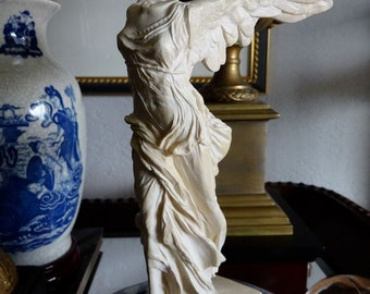 Miniature Winged Victory of Samothrace statue