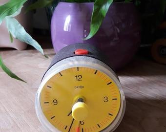 Alarm clock now.