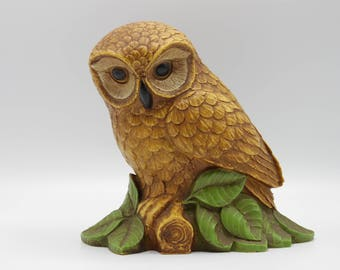 Decorative Vintage Owl from the 70s! - Retro - Kitschy - Vintage Decor