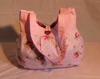 Baby Pink Flower Bag