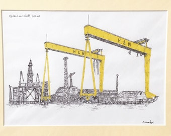 Harland and Wolff, Belfast Print