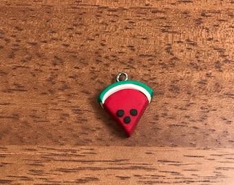 Watermelon polymer clay charm! See description for more details!