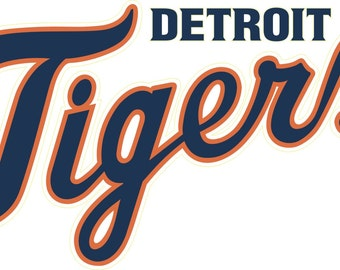Detroit Tigers  Decal/Sticker