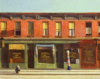 Edward Hopper Early Sunday Morning, 1930