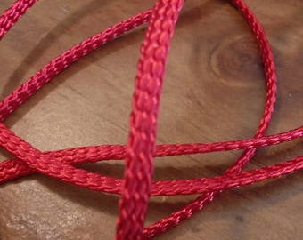 Red Flat Cording 3 Yards