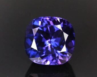 7.86 ctw. blue purple sapphire loose gemstone.
