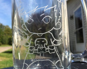 Punisher Engraved Mug
