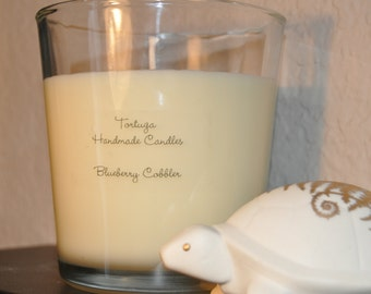 8 oz Blueberry Cobbler 100% Soy Candle
