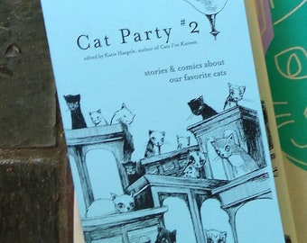 Cat Party #2 Zine