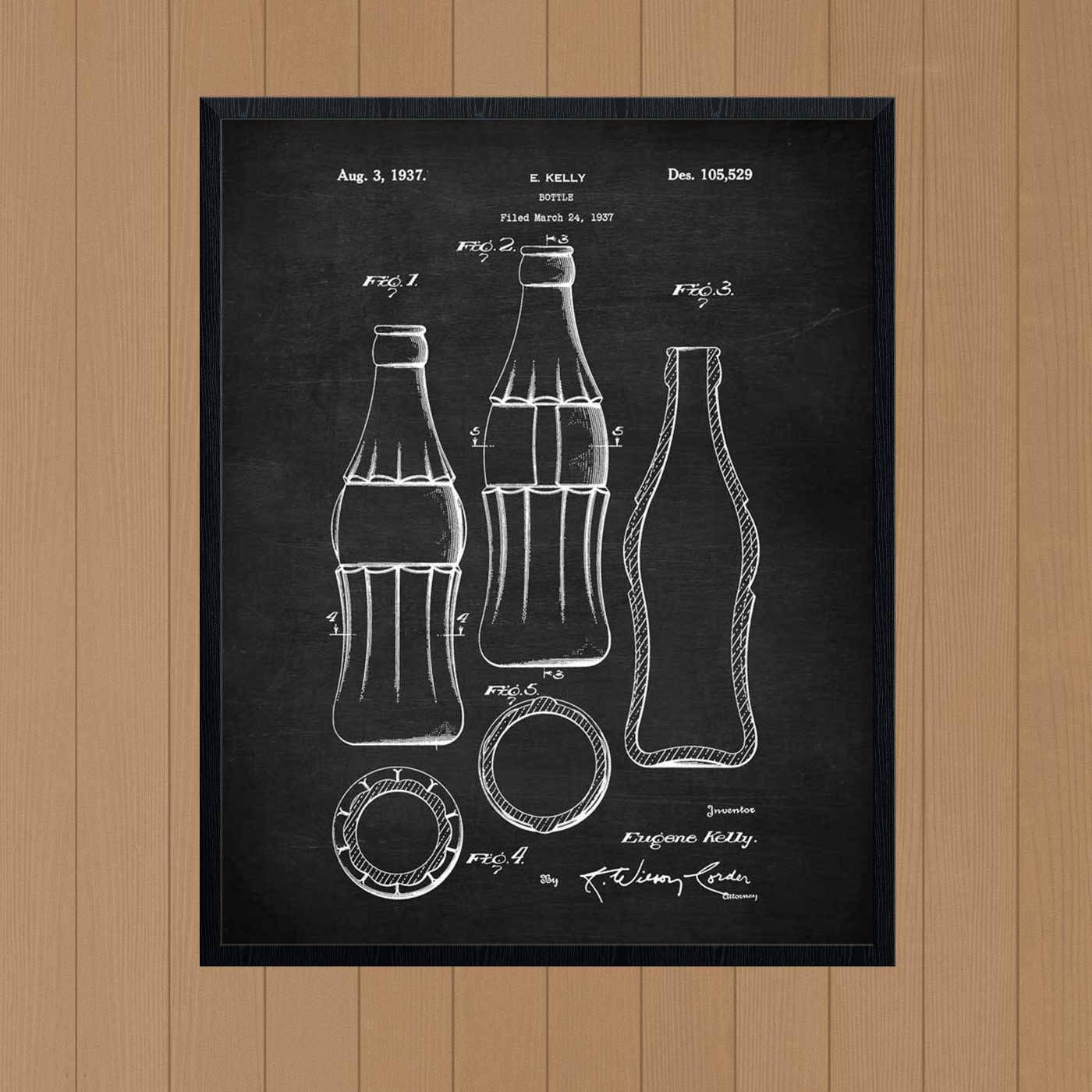 Coca Cola-Flasche Cola-Flasche Coca-cola Küche Kunst