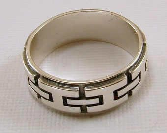 Sterling Silver Ring - Size 10 - Men or Women's ring