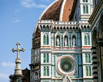 "16 x 24"" large art print - Meet Me at the Duomo - Tuscany, Italy - Fine art travel photography - church architecture - inspirational"