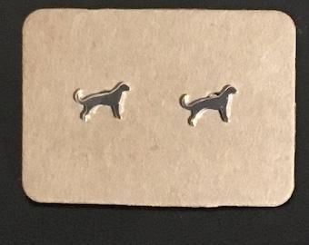 Tiny Dog earrings