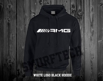 Mercedes-Benz AMG Adult Pullover Hooded Sweater / Sweatshirt (Hoodie) - Multiple Colour Choices! - Merc, Benz, CLA, C-Class, C63, E63