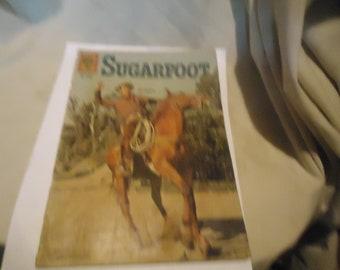 Vintage 1961 Sugarfoot Oct-Dec No 1209 Comic Book Dell Comics,  collectable