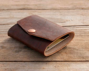 Mini-wallet Whiskey color