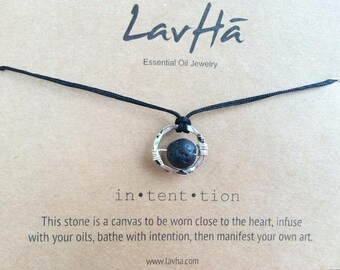Intention Essential Oil Necklace