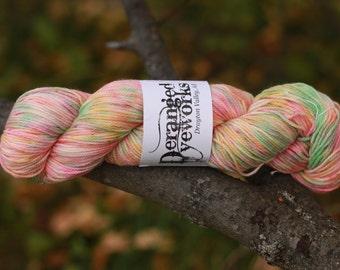 Hand Dyed 100% Superwash Merino Wool Yarn - DK/Sport Weight