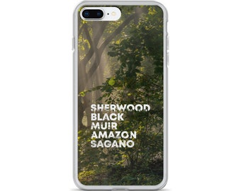 Famous Forests iPhone Case
