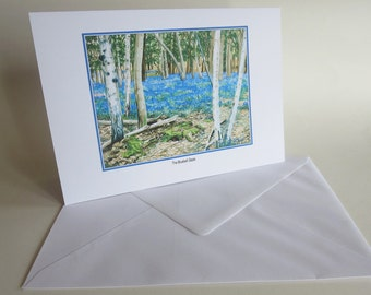 Bluebell Greetings Card