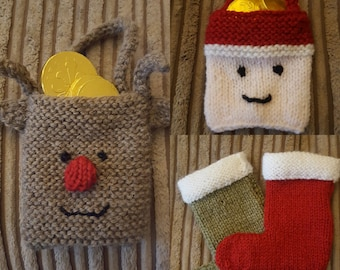 Christmas bags and stockings